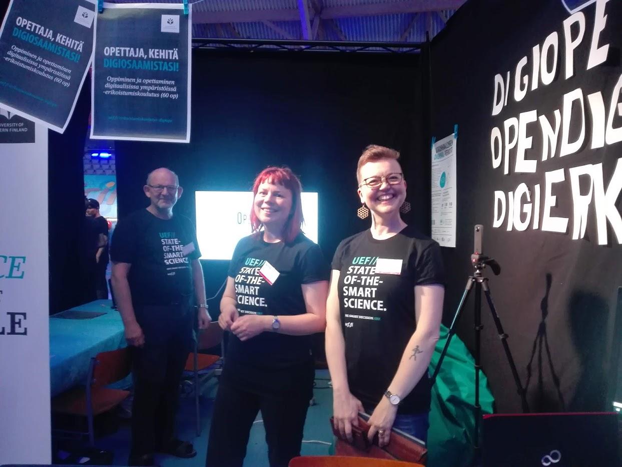 OpenDigi, Digiope ja Digierko Scifest messuilla toukokuussa